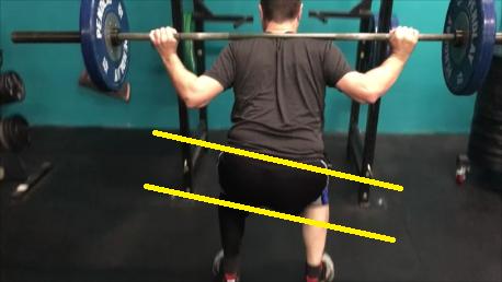 bad squat test pic